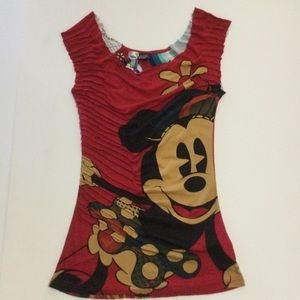 Desigual Mickey Mouse Top